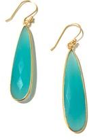 Charlene K 14K Gold Plated Sterling Silver Teardrop Earrings