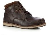 Red Tape Dark Brown 'reelan' Derby Boots