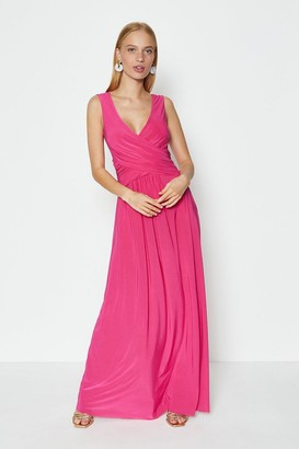 Coast Cross Over Sleeveless Maxi Dress
