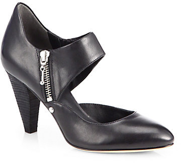 Belle by Sigerson Morrison Bobby Leather Mary Jane Pumps