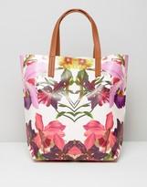Ted Baker Floral Print Bag Shopper Bag
