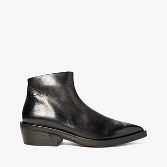 Marsèll Pointed Toe Ankle Boot (Black) Men's Shoes