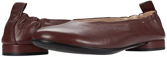 Ecco Anine Classic Ballet (Chocolate) Women's Shoes