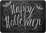 The Softer Side by Weather GuardTM Happy Halloween Kitchen Mat in Black/White