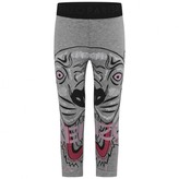 Kenzo KidsGirls Grey Tiger Print Leggings