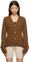 Thumbnail for your product : Arch4 Brown Blue Bird Cardigan