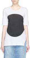 Bassike Dot print organic cotton T-shirt