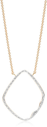 Monica Vinader Riva Hoop Cocktail Diamond Necklace