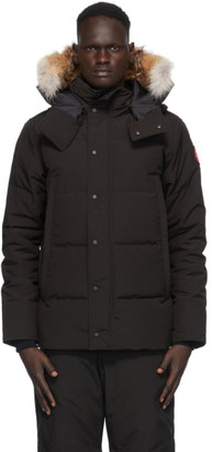 Canada Goose Black Down Wyndham Jacket