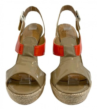 Anya Hindmarch Multicolour Patent leather Sandals