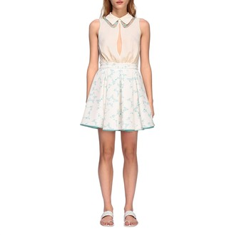 Elisabetta Franchi Dress With All Over Stars