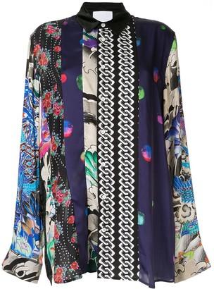 Koché Print Mix Shirt