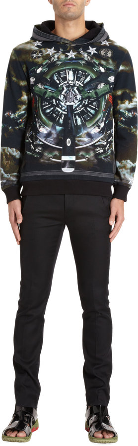 Givenchy Fighter Jet Hoodie