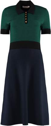 Tory Burch Color-block Sweater Dress