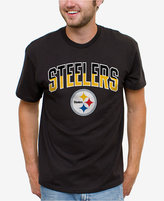Junk Food Clothing Men's Pittsburgh Steelers Split Arch T-Shirt