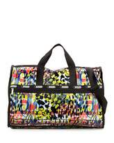 Le Sport Sac Large Printed Weekender Bag, Blooming