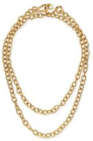 "Stephanie Kantis 24k Yellow Gold Plated Tudor Chain Necklace, 36""L"