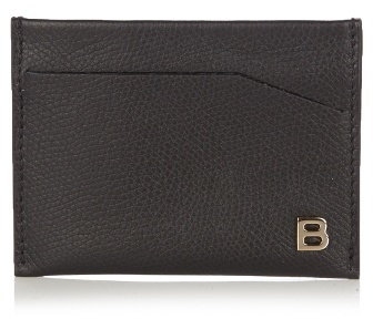 Balenciaga B-Line leather card holder