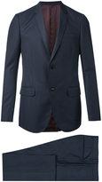 Gucci Monaco Selvage dot print suit - men - Cupro/Wool - 48