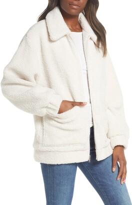 UGG Jackeline Teddy Bear Jacket