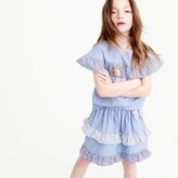 J.Crew Girls' mixed-stripe skirt