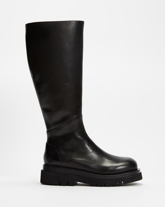 Mae Women's Black Knee-High Boots - Cameron - Size 37 at The Iconic