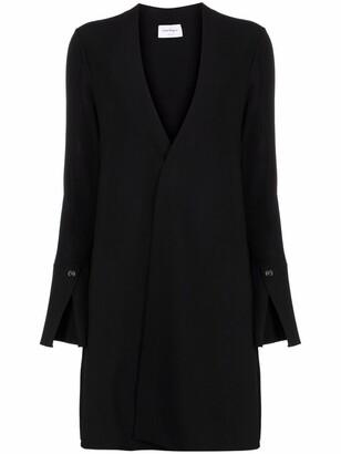 Salvatore Ferragamo Concealed-Front Coat