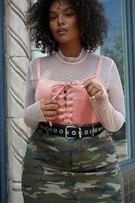 Forever 21 Plus Size Velvet Cropped Cami
