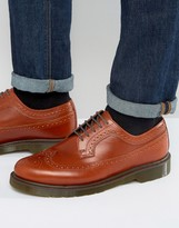 Dr. Martens 3989 Brogues In Tan