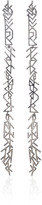 Fallon Hieroglyph Silver-Tone Earrings