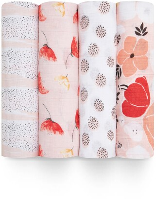 Aden Anais 4-Pack Classic Swaddling Cloths