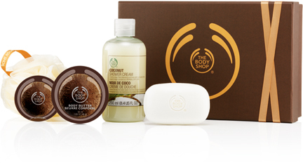 The Body Shop Small Coconut Gift Set