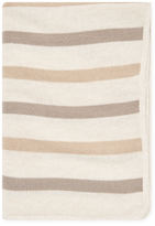 Portolano Cashmere Blend Striped Throw