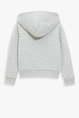 Country Road Quilted Hooded Sweat