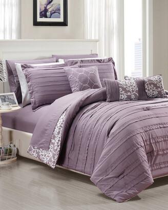Chic Home Isobelle Reversible Comforter Set