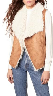 BB Dakota Chalet Bae Faux Fur Vest