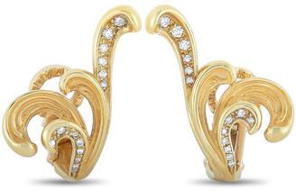 Carrera Y 18K 0.19 Ct. Tw. Diamond Earrings