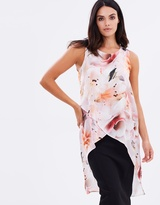 Wallis Lily Asymmetrical Top