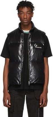 Moncler Black Down Banker Vest