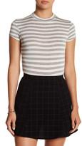 Velvet Torch Stripe Short Sleeve Bodysuit