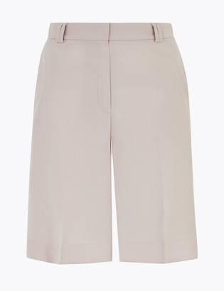 Marks and Spencer Crepe Tailored Shorts
