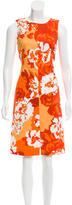 Loro Piana Printed Sheath Dress