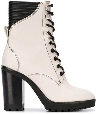 MICHAEL Michael Kors lace-up high heel boots