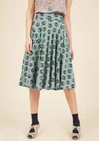 Easy Peasy, Livin' Breezy Midi Skirt in Ladybugs in L