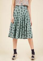 Easy Peasy, Livin' Breezy Midi Skirt in Ladybugs in M