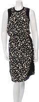 Sea Sleeveless Printed Dress