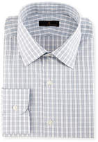 Ike Behar Gold Label Check Dress Shirt