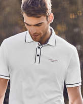 Ted Baker Stripe detail polo shirt