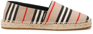 Burberry Iconic Striped Pattern Espadrilles