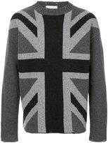 Pierre Balmain Great Britain flag sweater - men - Polyamide/Wool - 46